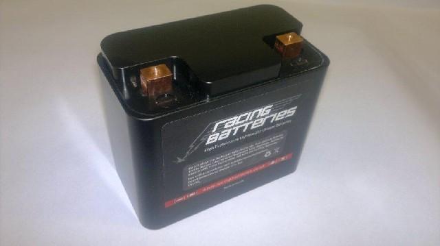 Baterie pro závody a běžný provoz BMW R1200GS - RB240400- 4,6Ah 1,05Kg, LiFePO4